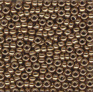 Rocaille MIYUKI 2mm 11-9457 Bronze