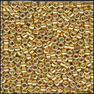 Miyuki Delicas - 1832 - Duracoat doré