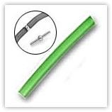 Tube PVC 4mm Péridot 925