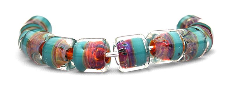Perle à la lampe artisanales haut de gamme - SM17