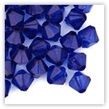 Toupies 6mm acryliques - Sapphire