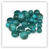 Assortiments de perles Acryliques - Turquoise