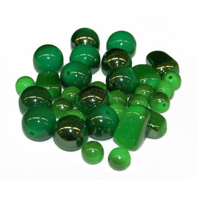 Assortiments de perles Acryliques - Emeraude