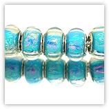 Perles acryliques façon murano pour bracelet - 232