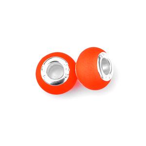 perles pour bracelet - 400 Néon Orange