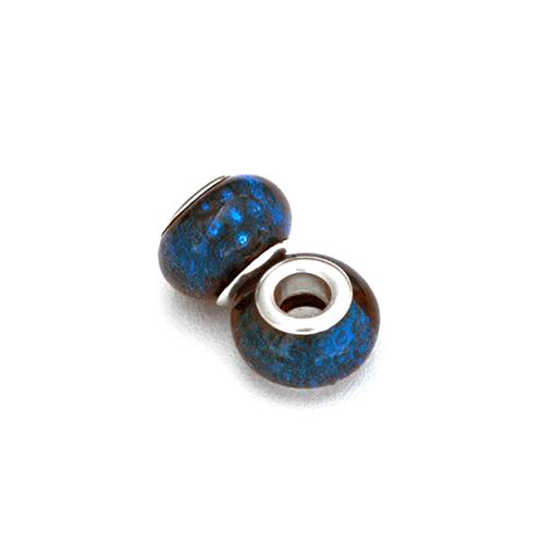 Perles acryliques pour bracelet - Sapphire