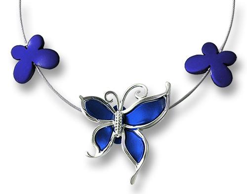 exemple création avec papillons acryliques