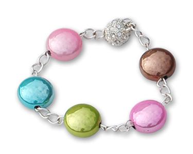 bijou en perle smarties 17mm