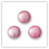 Smarties acryliques 17 mm Rose x2
