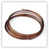 Fil Aluminium 2 mm Bronze