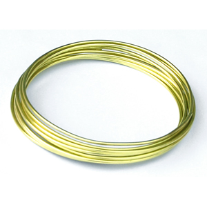 Fil Aluminium 2 mm Lime