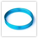 Fil Aluminium 2 mm Turquoise