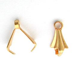 Belière fine dorée à l'Or 23 carats