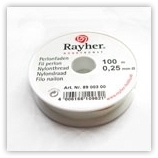 Fil nylon RAYHER 0.25mm