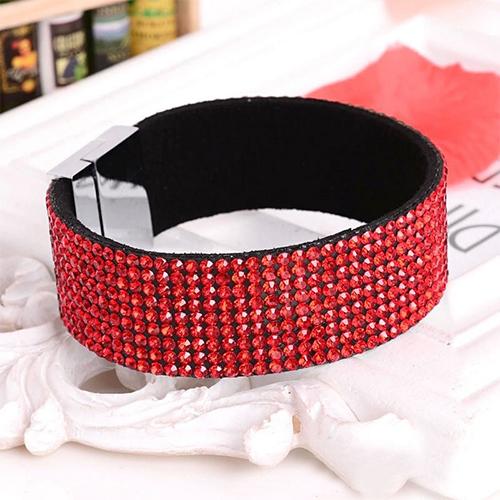 Bracelet Strass 9 rangs - Siam