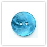 Bouton nacré 20mm turquoise