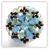 Schéma de bague en perles n°014