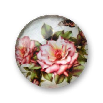 Cabochon 20 mm fleurs - 362