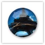 Cabochon 20 mm Paris - 501