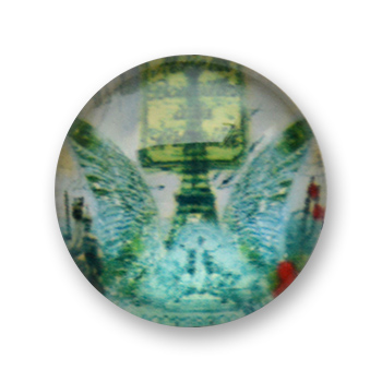 Cabochon 20 mm Paris - 505