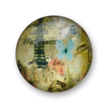 Cabochon 20 mm Paris - 514