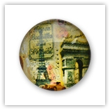 Cabochon 20 mm Paris - 518