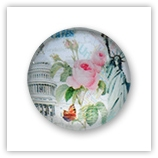 Cabochon 20 mm Paris - 527