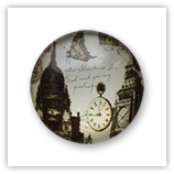 Cabochon 20 mm Paris - 530