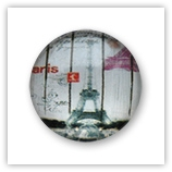 Cabochon 20 mm Paris - 531
