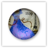 Cabochon 20 mm Paris - 533