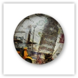 Cabochon 20 mm Paris - 534