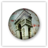 Cabochon 20 mm Paris - 539