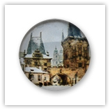 Cabochon 20 mm Paris - 543