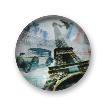 Cabochon 20 mm Paris - 545