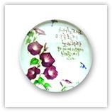 Cabochon 20 mm fleurs - 310