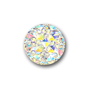 Cabochon 16 mm Crystal AB
