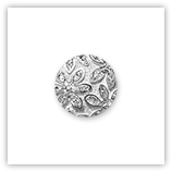 Cabochon 20 mm Crystal étoilé