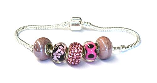 bracelet en perles céramiques