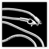 Tour de cou serpentine 3 mm