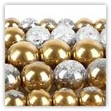 Craquelée 06mm Cristal Gold