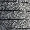 Cuir plat 10 mm - Pailleté gris 15596