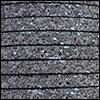 Cuir plat 05 mm - Pailleté anthracite 18673