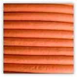 Cordon cuir 2mm Orange
