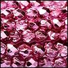 Perles à Facettes 4mm - Métallic Ice Rose (nouveau)