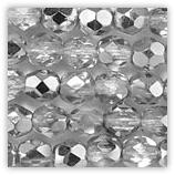 Facettes 6mm Cristal Argent