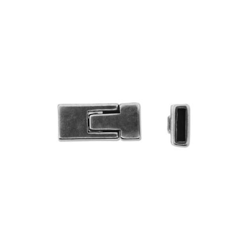 Fermoir magnétique pour cuir 10 mm - LF144AS