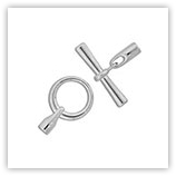 Fermoir Toggle pour cordon 3mm