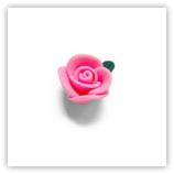 Rose Fimo 14mm