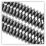 Hématite - rondelles 04 mm - Silver