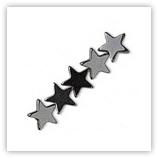 Hématite - étoiles 6mm